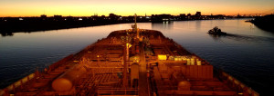 Slide 2 Savannah-Sunset-on-Tanker-Ship